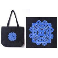 Blue Celtic Design Tote Bag