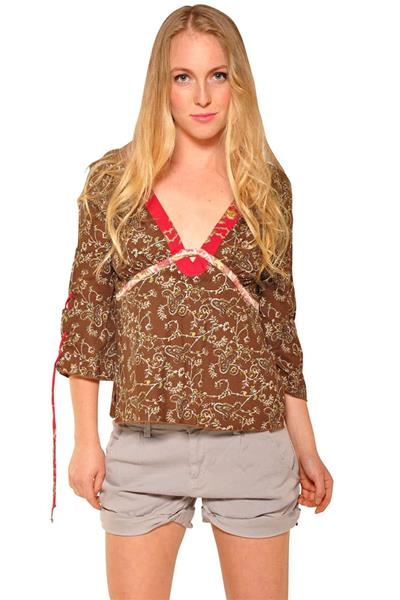 Brown Hippie Tunic