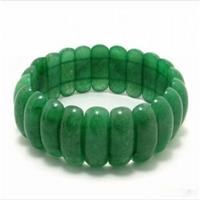 Natural Green Crystal Tanglin Bracelet