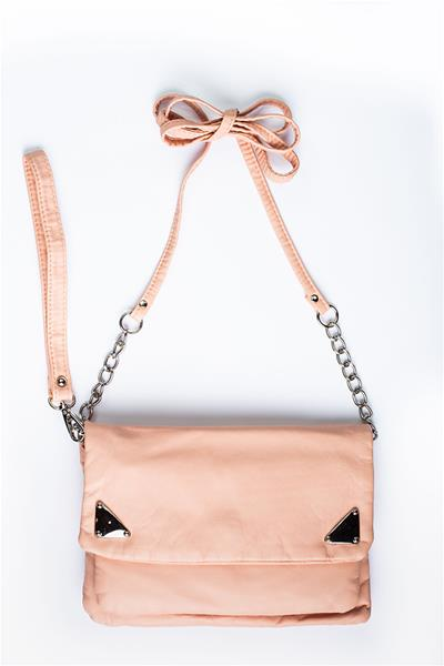 Pale Peach Cross Body Bag