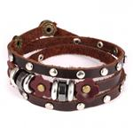 Brown Multi Layer Bracelet