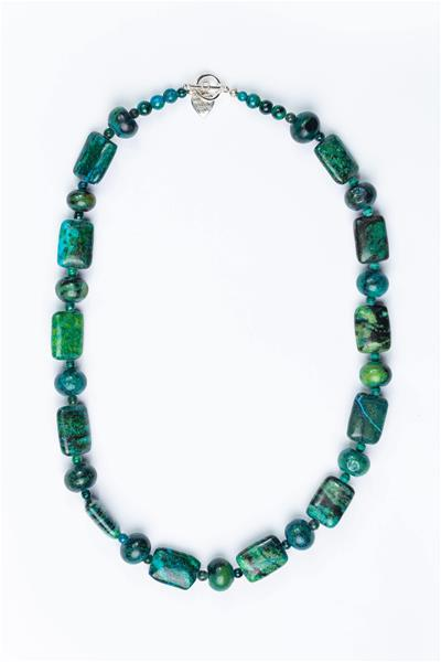Deep Green Turquoise Necklace