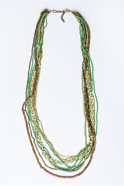Earthy Greens Necklace
